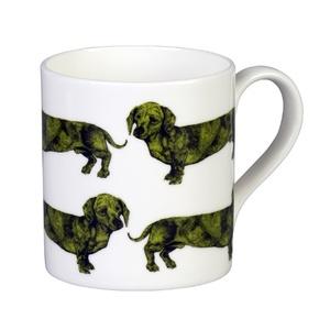 Dachshund Mug - Green