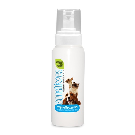 Sensitives Hypoallergenic Waterless Foam Shampoo