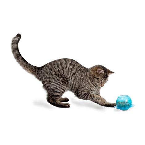 Fishbowl Cat Feeder Toy 3