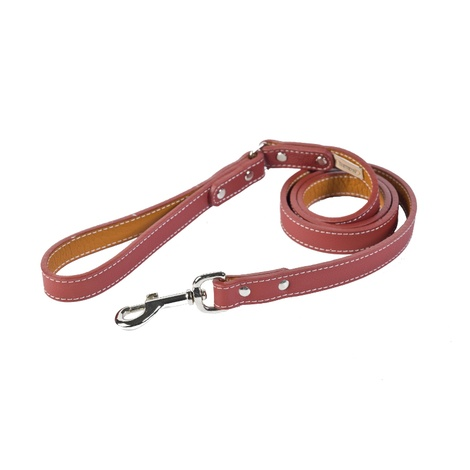 Auburn Leathercrafters Tuscany Dog Lead – Red
