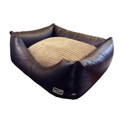 Chill Out Rectangular Dog Bed - Brown 2