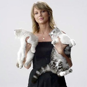 Taylor Swift's cats help promote concert film