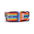 4cm width Fleece Comfort Dog Collar - Rainbow