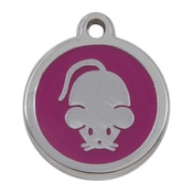 Tagiffany - My Sweetie Pink Mouse Pet ID Tag