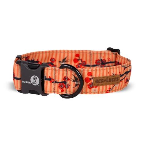 EcoLucks Dog Collar – Cherry Blossom Kimono