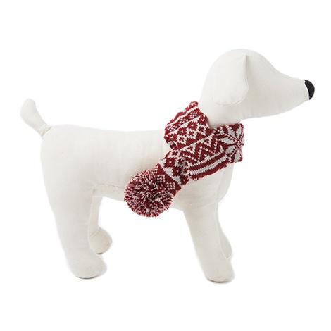 Snowflake Dog Scarf