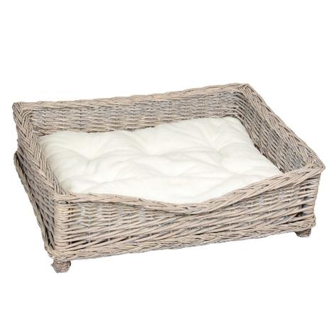 Square Willow Pet Basket 2