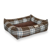 Bowl&Bone Republic - Scott Dog & Cat Bed - Brown