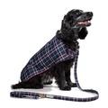 Pawditch Blue Check Dog Coat 6