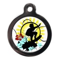 Surfs Up Pet ID Tag