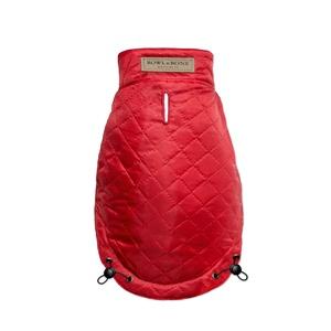 Spirit Quilted Dog Jacket - Red