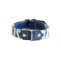 Blue Geo Dog Collar 4