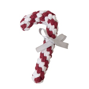 Candy Cane Rope Toy