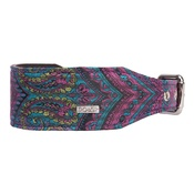 DO&G - DO&G Oriental Silks Dog Collar - Paisley