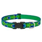"Collarways - 3/4"" Width Tail Feathers Lupine Dog Collar"