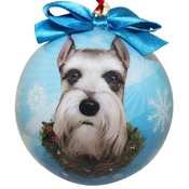 NFP - Cropped Schnauzer Christmas Bauble