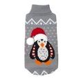 Christmas Penguin Dog Jumper
