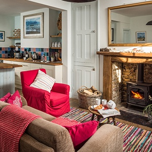 <strong>Coastguard's Beach House, East Sussex </strong> Your coastal canine will love this gorgeous cottage