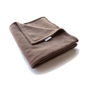 Charley Chau - Double Fleece Dog Blanket - Mocha