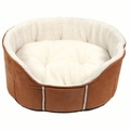 Kudos Fairmont Oval Pet Bed in Tan