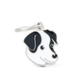 Jack Russell Engraved ID Tag – Black & White