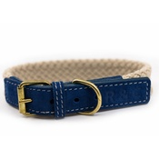 Ralph & Co - Rope collar (flat) - BLUE