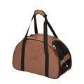 Kensington Pet Carrier - Tweed Brown Herringbone