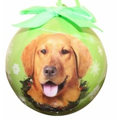 NFP - Golden Retriever Christmas Bauble