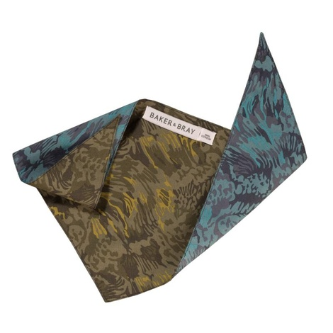 Liberty Two-Tone Camo Dog Bandana 2
