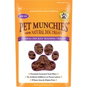 Pet Munchies - 3 x Liver & Chicken Training Treats 50g