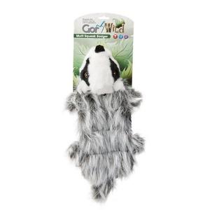 Gor Wild Multi-Squeak Dog Toy - Badger
