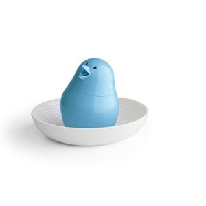 Bird-Shaped Salt and Pepper Shaker - Blue