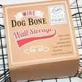Bone Shaped Wire Storage Basket 2