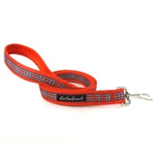 Salt Dog Studios - Red Tartan Dog Lead