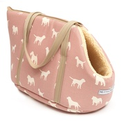 Mutts & Hounds - Old Rose Dog Carrier