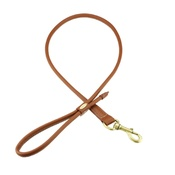 Clementine est. Dogs - Sitwell Tubular Dog Lead – Brown