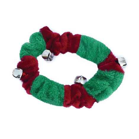 Doggy Things Plush Christmas Collar with Bells