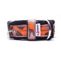 2.5cm width Fleece Comfort Dog Collar – Orange Camo