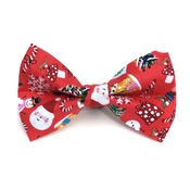 Ditsy Pet - Jolly Christmas Dickie Bow