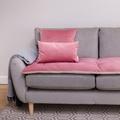 Velvet Scatter Cushion - Blush 2