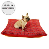 Henry Holland - Henry Holland Red Tartan Dog Bed