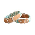 Green Geo Dog Collar