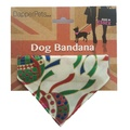 Christmas Baubles Slip on Dog Bandana  2