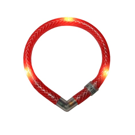Leuchtie Mini LED Collar - Red
