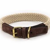 Ralph & Co - Rope collar (flat) - BROWN