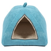 Happy Pet - Sweet Dreams Cat Igloo – Blue