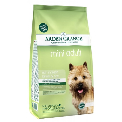 Arden Grange Mini Adult Lamb & Rice 6kg