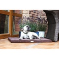 Chocolate Foam Dog Mat 3