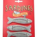 Sardine Catnip Toys