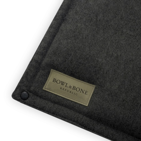 Loft Dog Travel Mat - Graphite 4